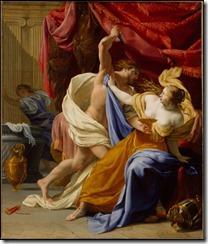 Rape of Tamar Eustache Le Sueur 1640