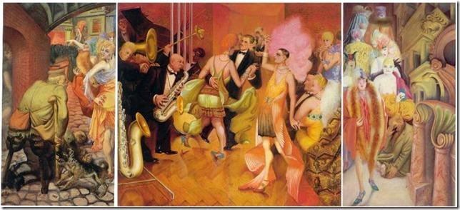 Otto Dix Metropolis 1928